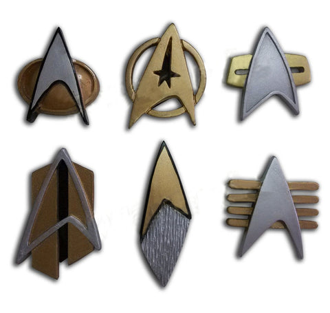 Star Trek Cosplay Starfleet Badge Pin