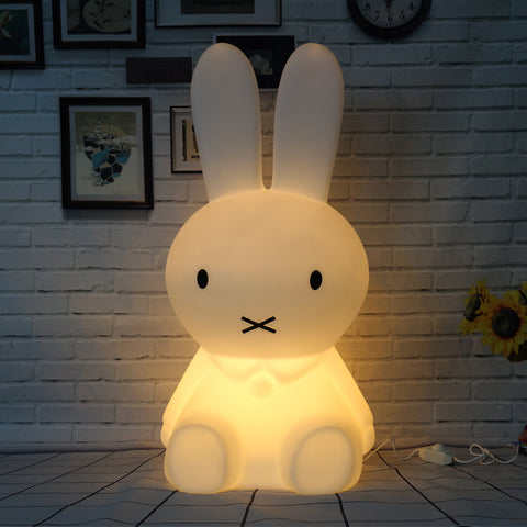 "Giant 20"" Bunny Rabbit Dimmable Led Night Light"