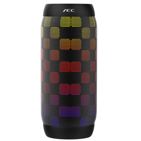 AEC BQ-615 PRO LED Light Portable Bluetooth Speaker