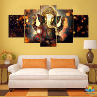 Canvas Ganesh