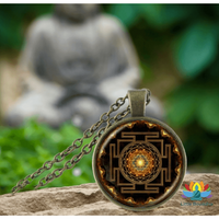 Collier Sacré Sri Yantra Univers