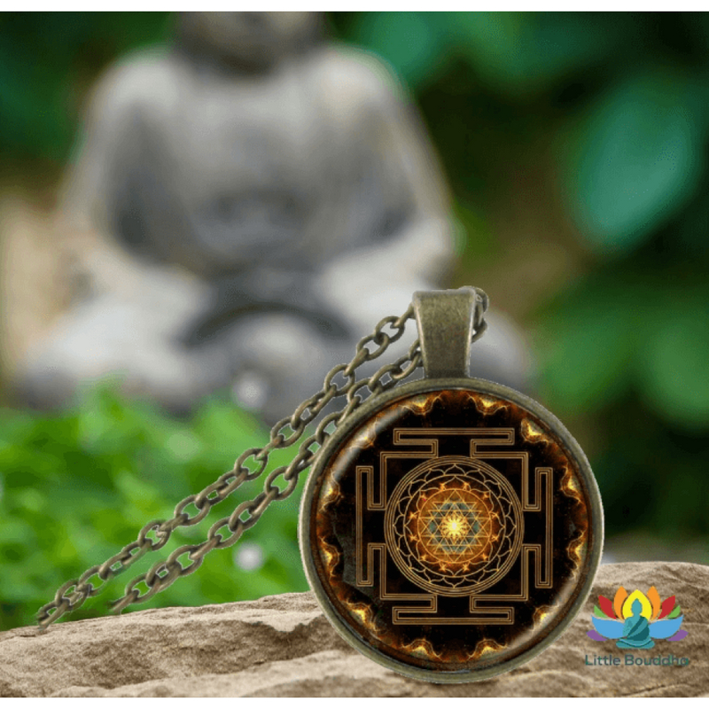 "Collier sacré Sri Yantra ""Univers"""