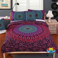 Ensemble De Lit Mandala Double