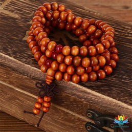 Mâlâ Natural Wood Marron Bracelet