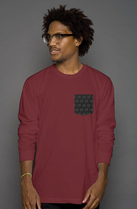 Al Qayrawan Pocket Long Sleeve Tee