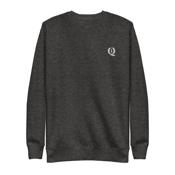 Q Embroidered Legacy Fleece Pullover