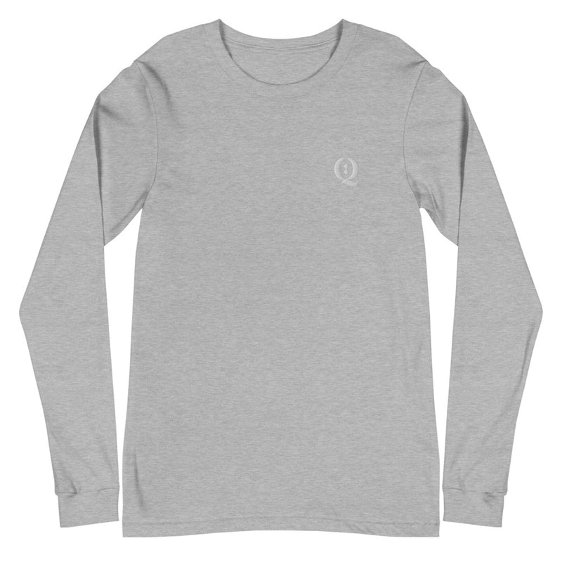 Q Embroidered Long Sleeve