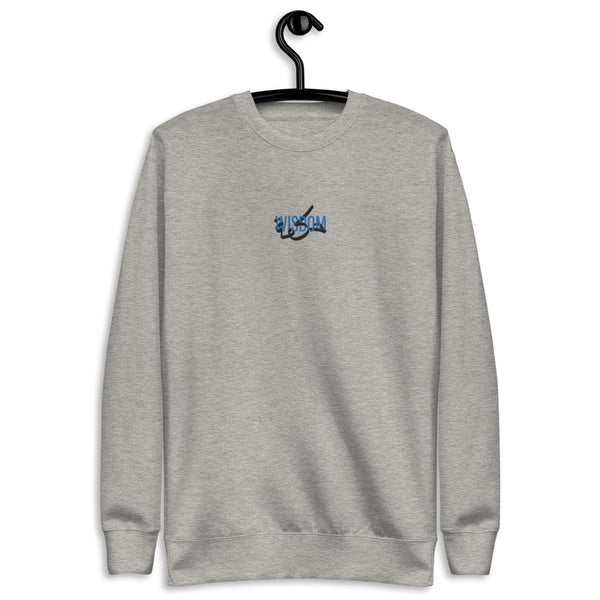 Wisdom Bahr Embroidered Fleece Pullover