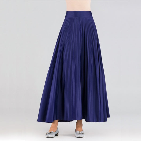 Pleated Spring Skirt