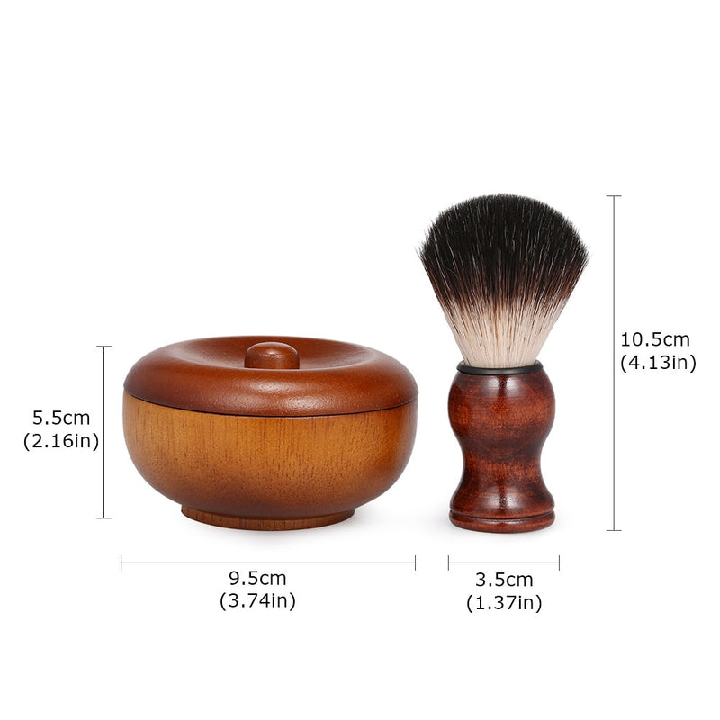 Wooden Classic Lather Brush