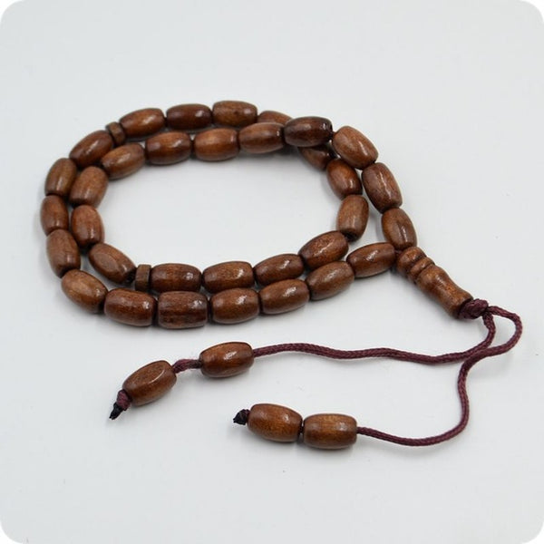 8mm Wooden 33 Prayer Beads
