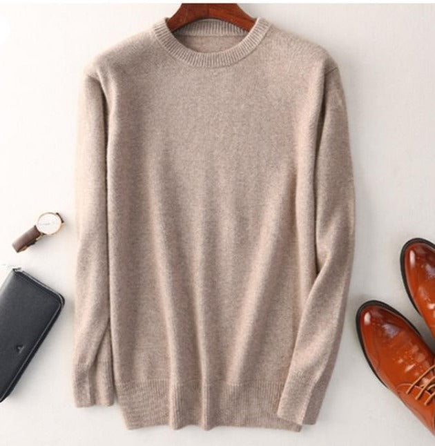 Cashmere Heavy Knit Sweater