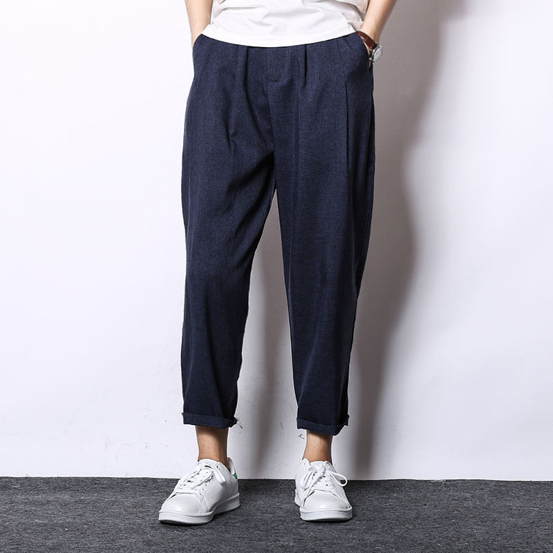Cordoba Casual Linen Trousers
