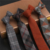 Classic Cotton Blend 2.4'' Skinny Tie