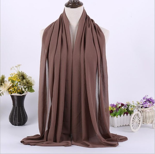 Basic Long Chiffon Hijab