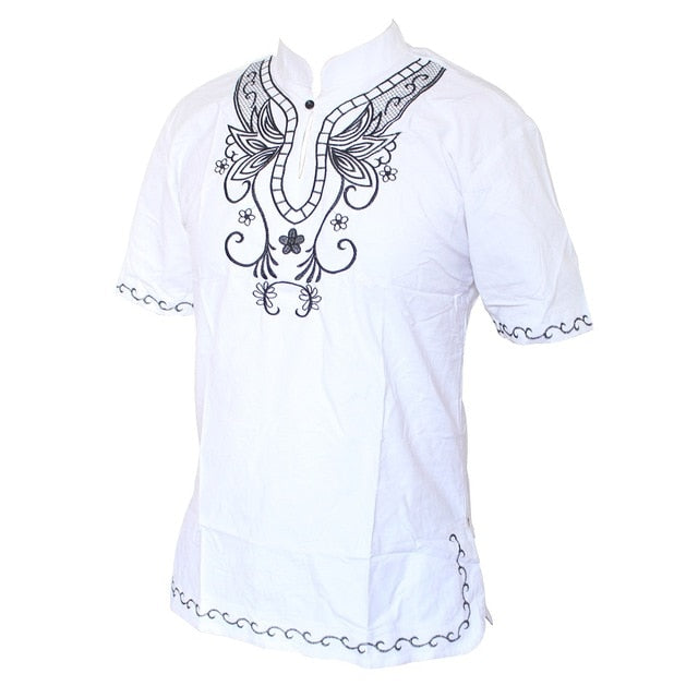 Timbuktu Embroidered Short Sleeve