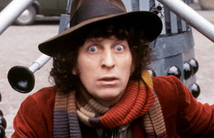 Tom Baker enters as the doctor