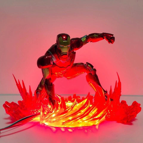 Iron man coming in hot lamp