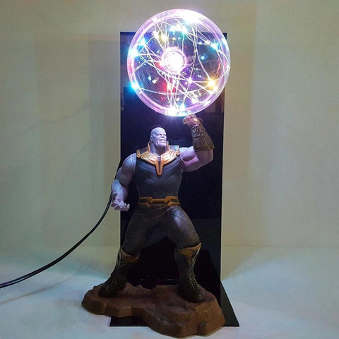 Infinity gauntlet Thanos lamp