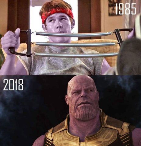Thanos as a goonie