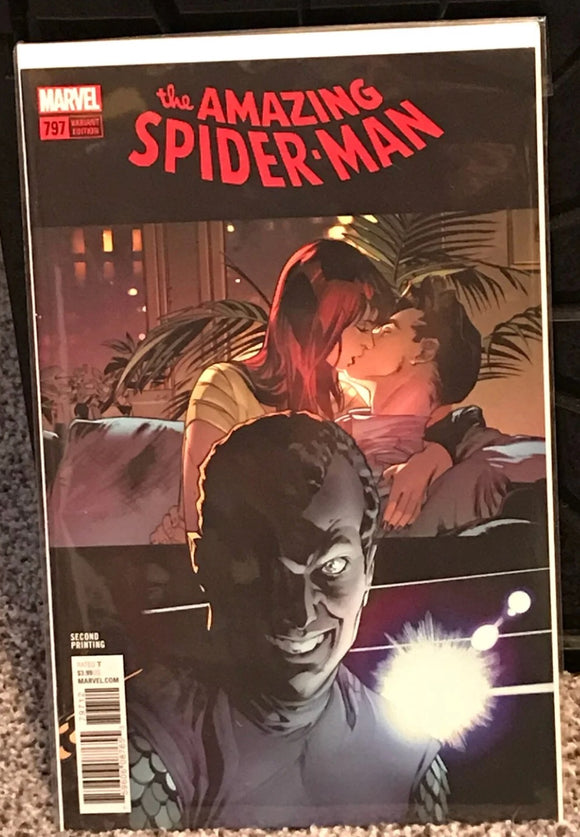 Marvel comics amazing Spider-Man 797 Variant