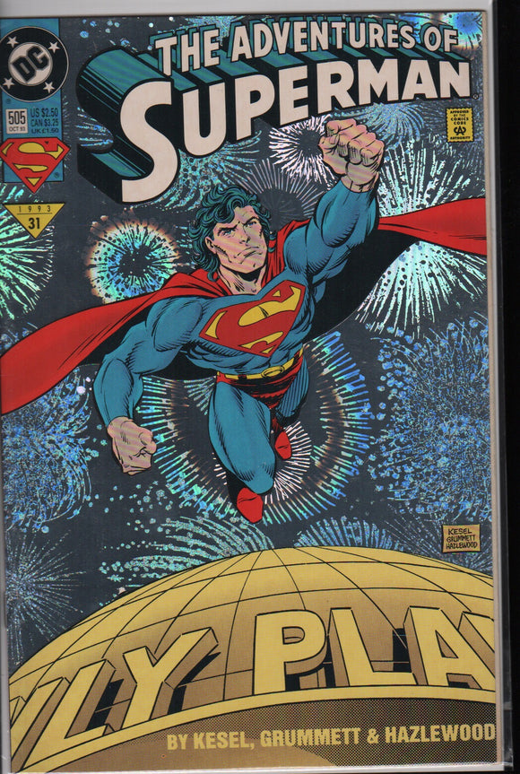 Superman atventures of superman 505 VG