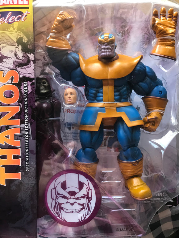 Marvel select Thanos special collector edition figure rare