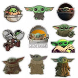 Baby today Mandalorian stickers set 1