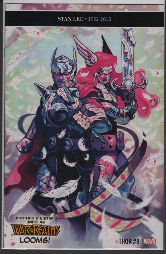 Thor - Stan lee memorial variant marvel comics