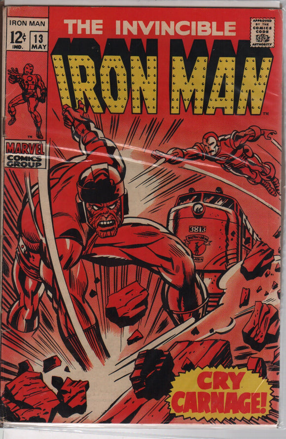 Marvel comics Iron man 13