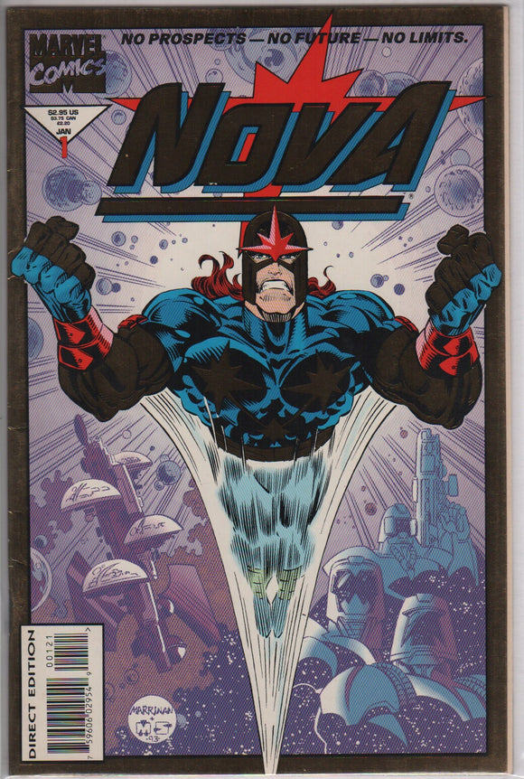 Marvel comics Nova 1