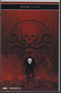 The Punisher - Stan lee memorial variant marvel comics