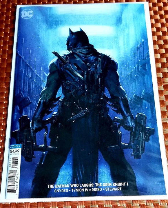 The batman who laughs grim knight 1 Variant