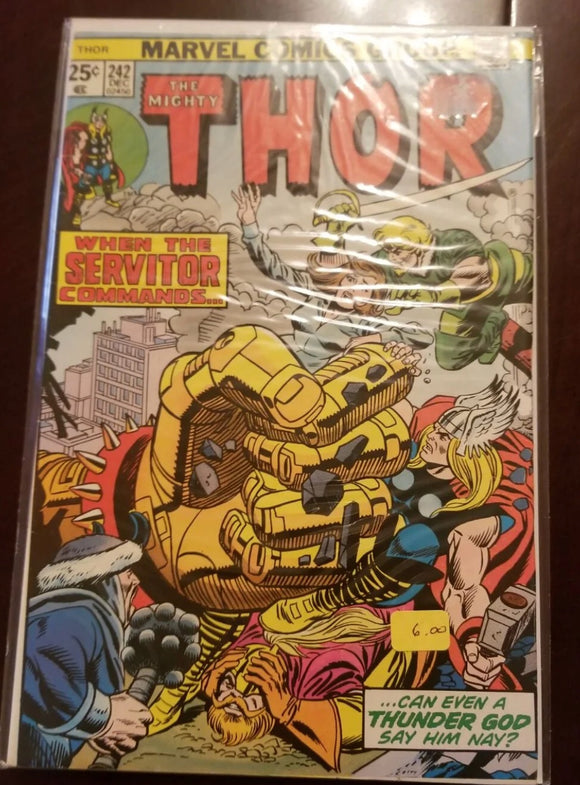 The mighty Thor 271  marvel comics VG