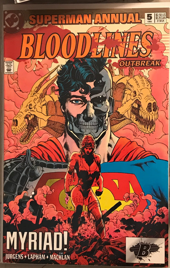 Superman  annual 5 bloodlines