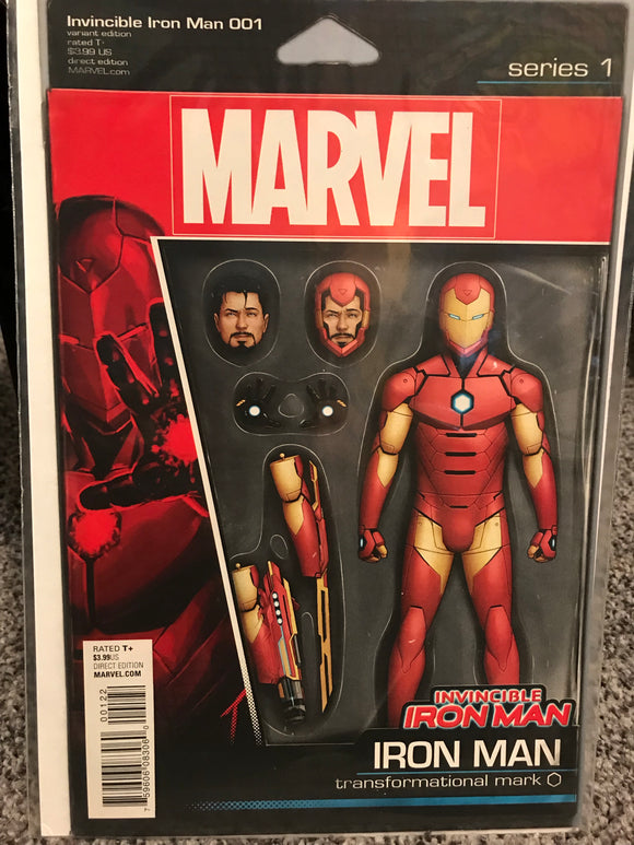 Invincible iron man 1 Figure Variant