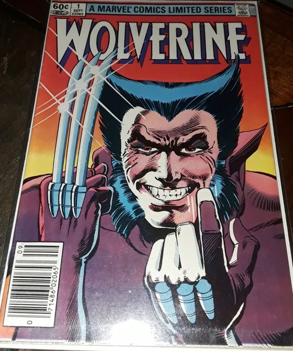 Wolverine 1 first limited series VG