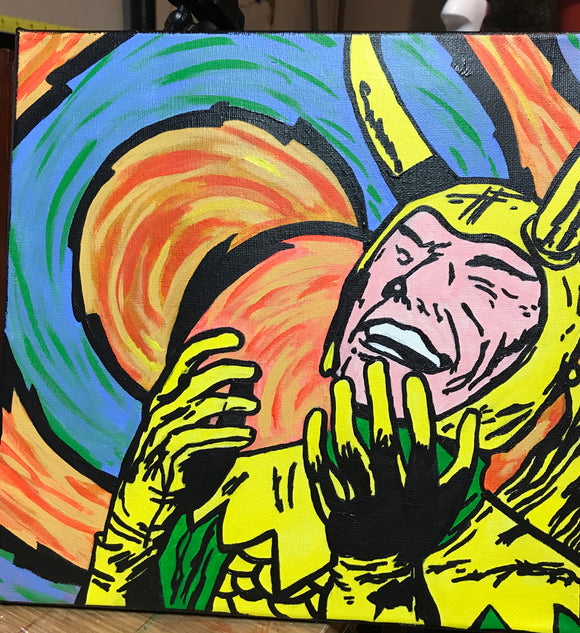 The power of Loki painting by Zero the painter