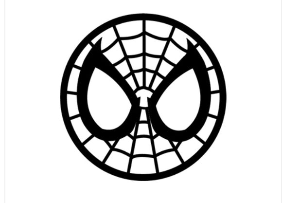 Spider man signal vinyl decal