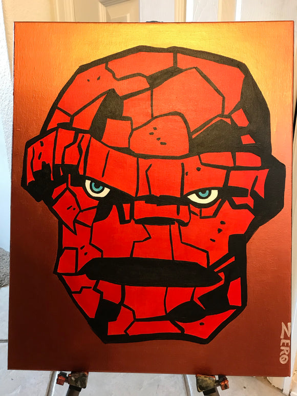 The thing painting by Zero the painter
