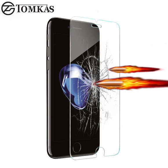 TOMKAS Tempered Glass For iPhone