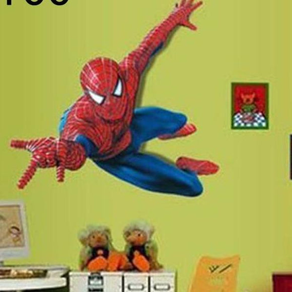 spiderman wall decal removable