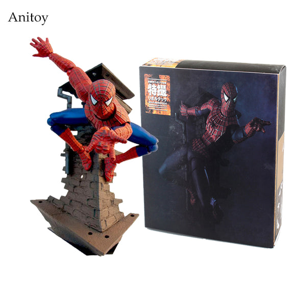SCI-FI Revoltech Spiderman  Series Spider-Man Action Figure
