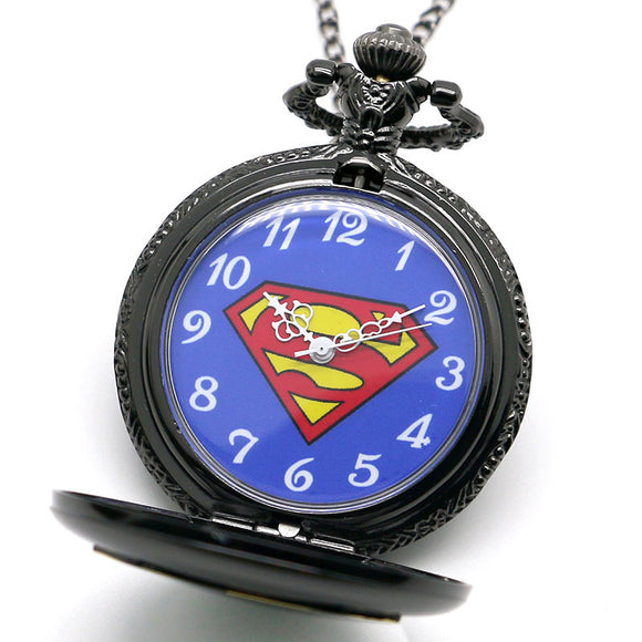 superman pocket watch