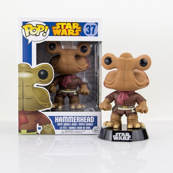 Origianl Funko pop STAR WARS - HAMMERHEAD Bobble Head Figure Collectible Vinyl Figure Model Toy with Original box
