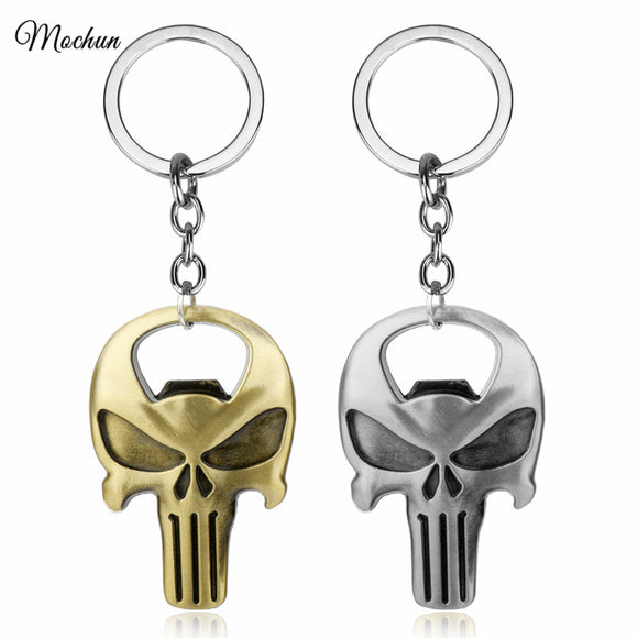 Punisher Skeleton Opener Keychain