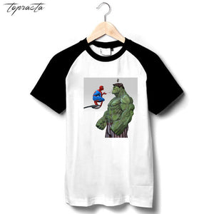 spiderman hulk t shirt