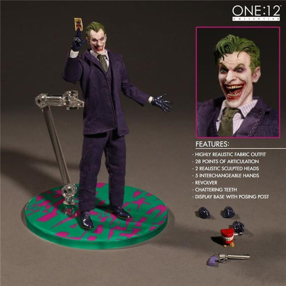 Mezco DC Comics The Joker Collective One:12 Figure 15cm/6