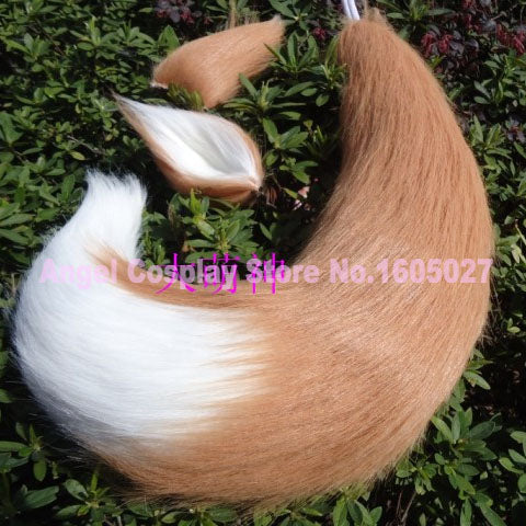 Spice and Wolf Horo Cosplay Wolf Ears & Tail