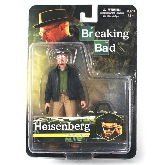MEZCO Breaking Bad Heisenberg Walter White